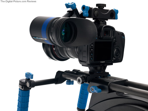 Redrock Micro microEVF High Definition Electronic HDSLR Viewfinder - Back View
