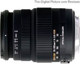 Sigma 50-200mm f/4-5.6 DC OS HSM Lens