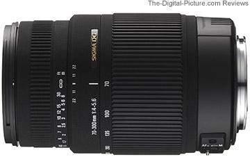 Sigma 70-300mm F/4-5.6 DG OS Lens