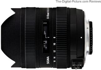 Sigma 8-16mm f/4.5-5.6 DC HSM Lens