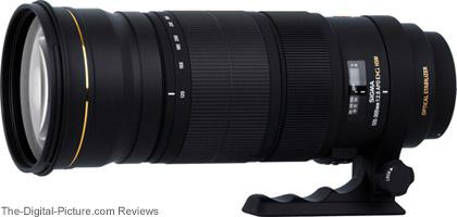 Sigma APO 120-300mm f/2.8 EX DG OS HSM Lens