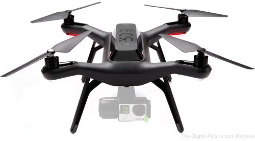 3DR Solo Quadcopter with 3-Axis Gimbal for GoPro HERO3+ / HERO4 - $299.00 Shipped (Reg. $989.00)