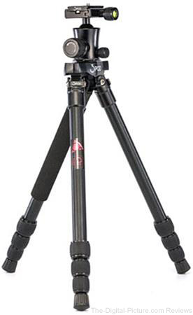 3Pod P4AFH Aluminum 4-Section FlatFold Tripod with K3 BallHead - $69.95 Shipped (Reg. $149.95)