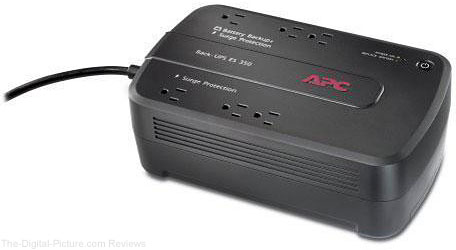 APC BE350G Back-UPS 350 6 Outlet Surge Protector and Battery Backup - $42.95 Shipped (Reg. $69.95)