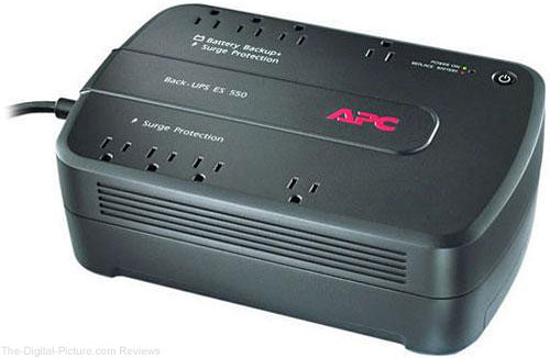 APC BE550G Back-UPS 550 8 Outlet Surge Protector and Battery Backup (120V) - $42.95 Shipped (Reg. $69.95)