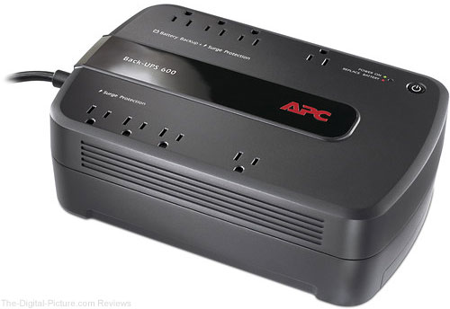 APC BN600G Back-UPS NS 8-Outlet 600VA Surge Protector and Battery Backup - $29.99 Shipped (Reg. $74.99)