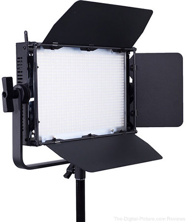 AXRTEC AXR-A-1040BV Bi-Color LED Light Panel with V-Mount Battery Plate & DMX - $499.95 Shipped (Reg. $899.95)
