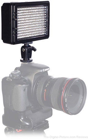 AXRTEC AXR-C-204B On-Camera LED Light - $79.00 Shipped (Reg. $159.00)