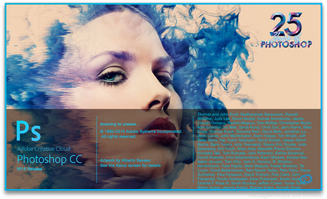 Adobe Photoshop CC 2015 Splash Screen