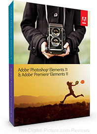 Adobe Photoshop Elements 11 and Premiere Elements 11 Software