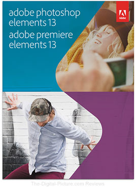 Photoshop Elements 13 & Premiere Elements 13 Bundle
