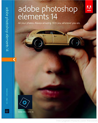 Adobe Photoshop Elements 14 (Download) - $69.99 (Reg. $99.99)