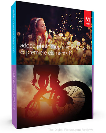 Adobe Photoshop Elements 15 and Premiere Elements 15 (Download) - $92.99 (Reg. $149.99)