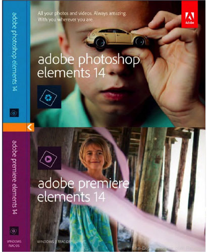 Adobe Photoshop Elements 14 & Premiere Elements 14 - $69.95 Shipped (Reg. $149.95)
