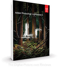 Save $30.00 on Lightroom 5 with any Camera/Lens Purchase