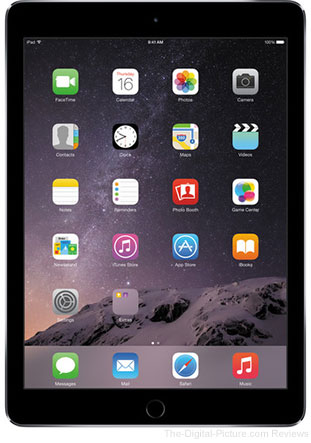 Apple 128GB iPad Air 2 (Wi-Fi Only, Space Gray) - $549.00 Shipped (Reg. $699.00)