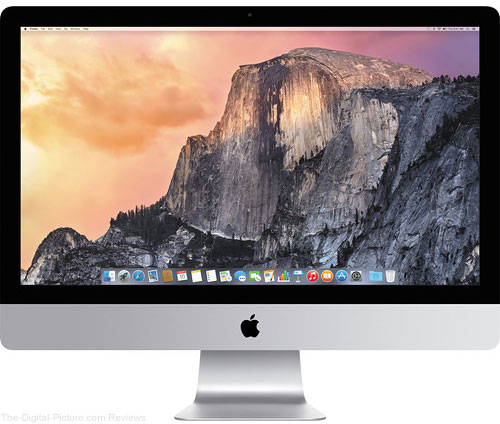 "Apple 27"" iMac with Retina 5K Display (Mid 2015) - $1,499.00 Shipped (Reg. $1,899.00)"