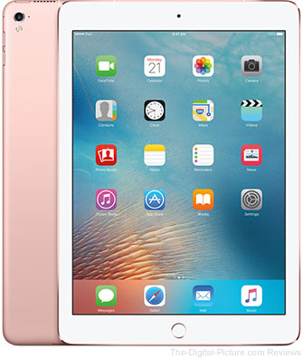 "Apple 9.7"" iPad Pro (32GB, Wi-Fi + 4G LTE, Rose Gold) - $529.00 Shipped (Reg. $729.00)"
