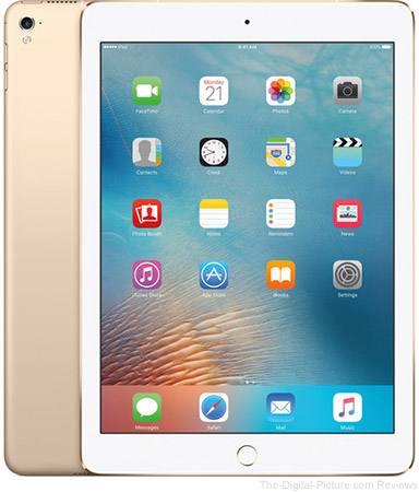 "Apple 9.7"" iPad Pro (32GB, Wi-Fi + 4G LTE, Gold) - $579.00 Shipped (Reg. $729.00)"