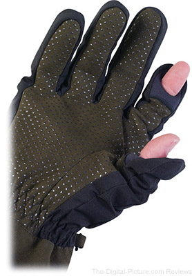 AquaTech Sensory Gloves Black/Moss