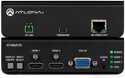 Atlona AT-HDVS-TX HDBaseT Extender with AT-HDRX Receiver Kit - $299.95 Shipped (Reg. $628.95)