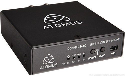 Atomos Connect-AC H2S Converter with AC Cable - $85.00 Shipped (Reg. $195.00)