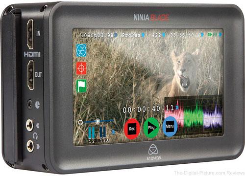 "Atomos Ninja Blade 5"" HDMI On-Camera Monitor & Recorder - $395.00 Shipped AR (Reg. $495.00)"