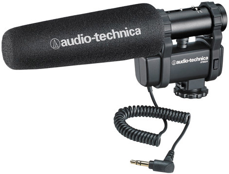 Audio-Technica AT8024 Stereo/Mono Camera-Mount Microphone - $124.95 Shipped (Reg. $199.95)