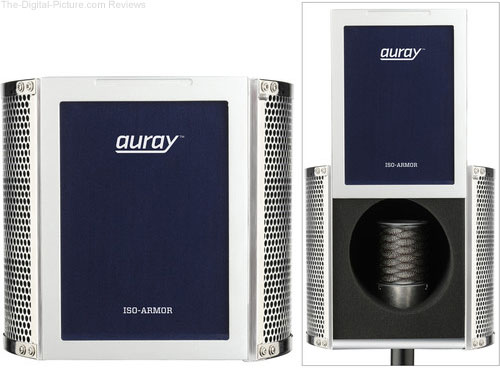 Auray ISO-ARMOR Pro Isolation Chamber for Recording Microphones - $39.99 Shipped (Reg. $74.99)