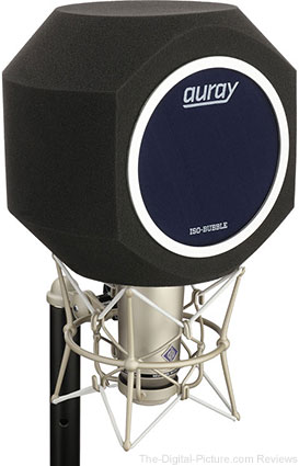 Auray ISO-BUBBLE Isolation Bubble for Recording Microphones - $19.99 Shipped (Compare at $49.99)
