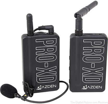 Azden PRO-XD 2.4 GHz Digital Wireless Lavalier System - $139.00 Shipped (Reg. $199.00)