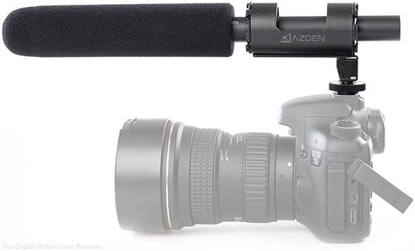 Azden SGM-1000 Super-Cardioid Shotgun Microphone - $124.00 Shipped AR (Reg. $249.00)