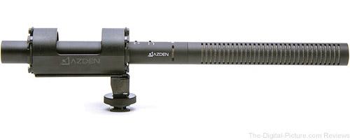 Azden SGM-1X - Professional Shotgun Microphone - $119.99 Shipped (Reg. $179.00)