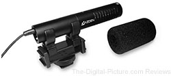 Azden SMX-20 DSLR Stereo Directional Shotgun Microphone - $69.00 AR (Compare at $129.00)