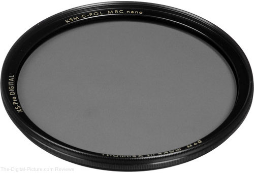 Save $27.00 on the B+W 55/49mm Kaesemann Circular Polarizers