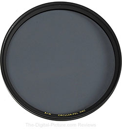 B+W 72mm Circular Polarizer MRC Filter