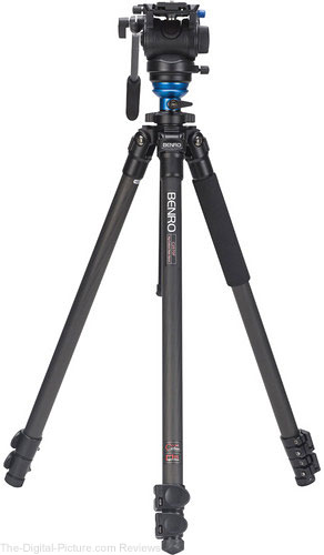 Benro C2573FS4 S4 Video Head and CF Flip Lock Legs Kit - $350.00 Shipped (Compare at $440.00)