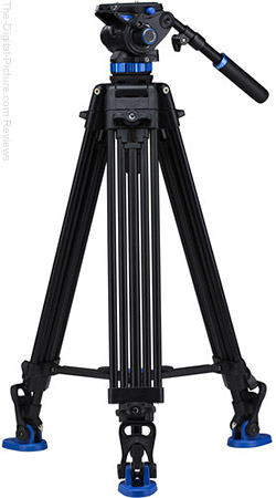 Benro S7 Dual Stage Video Tripod Kit - $349.00 Shipped (Reg. $449.00)