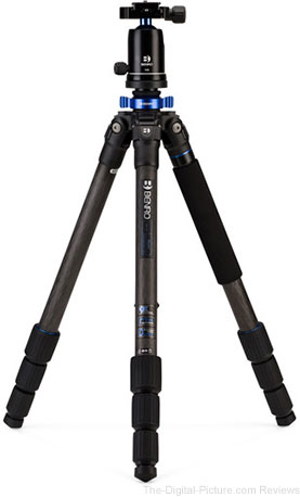 Select Benro Mach3 Carbon Fiber Tripods on Sale at B&H