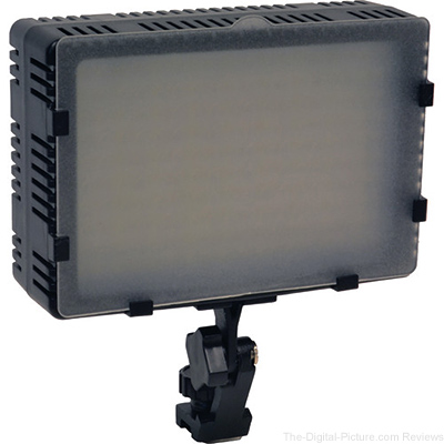 Bescor FP-180 Bi-Color Dimmable On-Camera Light