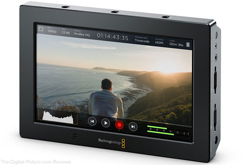 "Blackmagic Design Video Assist 4K 7"" HDMI/6G-SDI Recording Monitor - $595.00 Shipped (Reg. $895.00)"