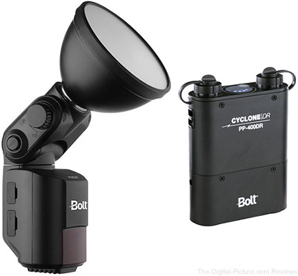 Bolt VB-22 Bare-Bulb Flash Kit with Cyclone PP-400DR Power Pack - $399.95 Shipped (Reg. $784.95)