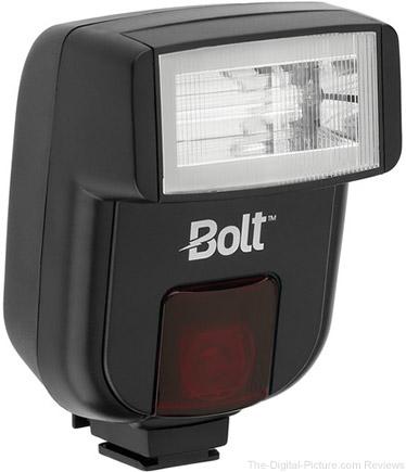 Bolt VS-260 Compact On-Camera Flash - $39.95 Shipped (Reg. $69.95)
