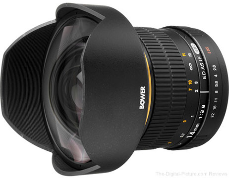 Bower 14mm f/2.8 Ultra Wide-Angle Lens - $299.00 Shipped (Reg. $379.00)