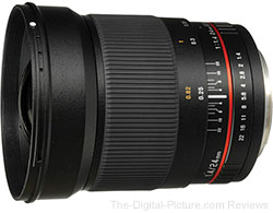 Bower 24mm f/1.4 Wide-Angle Lens - $499.00 Shipped (Reg. $699.00)