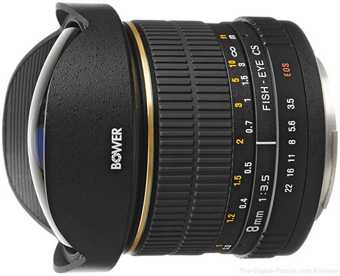 Bower 8mm f/3.5 Fisheye Lens or Canon - $149.99 Shipped (Reg. $219.95)