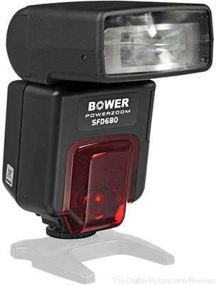 Bower SFD680 Power Zoom TTL Flash for Canon Cameras - $49.99 Shipped (Reg. $99.99)