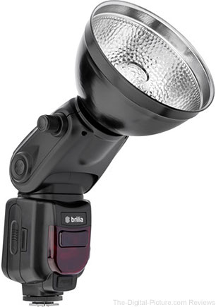 Brilia BB-110C Bare-Bulb TTL Flash for Canon Cameras - $129.95 Shipped (Reg. $159.95)