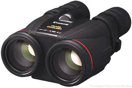 Canon 10x42 L IS WP Image Stabilized, Water Proof Porro Prism Binocular  - $999.99 Shipped (Reg. $1,499.99)