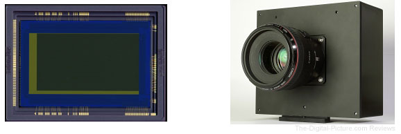 Canon 35mm CMOS Video Sensor and Prototype Video Camera